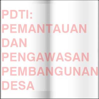 PDTI: Prosedur Pengawasan Pembangunan Desa