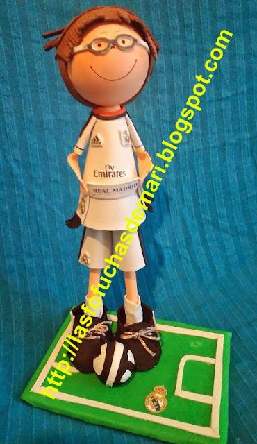 Jugador del Real Madrid personalizado - Andrés