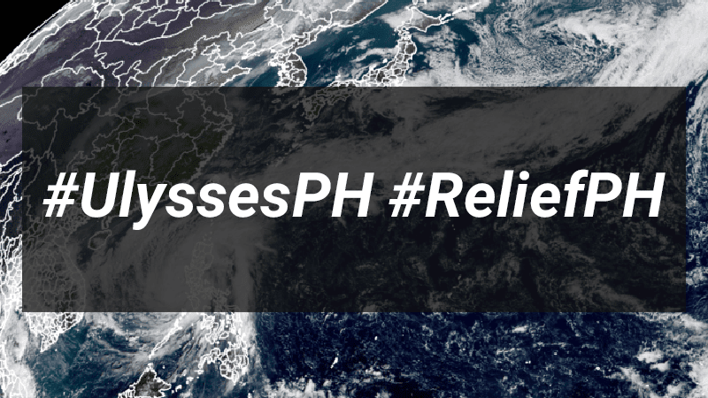 Donation drives supporting victims of Typhoon Ulysses #ReliefPH