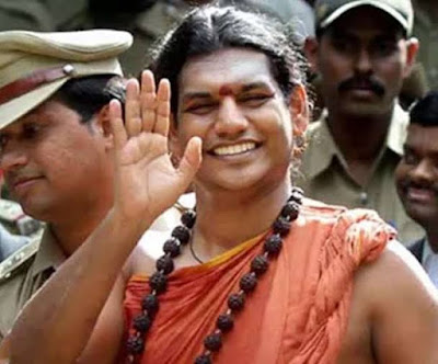 Last month, an FIR was lodged against Nityananda