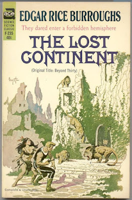 Retro Reviews: The Lost Continent by Edgar Rice Burroughs