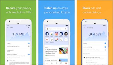 Aplikasi browser terbaik dan tercepat - opera mini