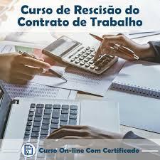 Curso Online de Rescisão de Contrato de Trabalho - 30hs