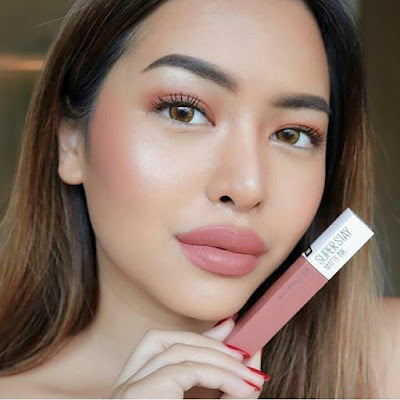 Review Maybelline Superstay Matte Ink Seductress No 65
