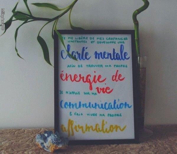 Mantra personnalisé Madroline
