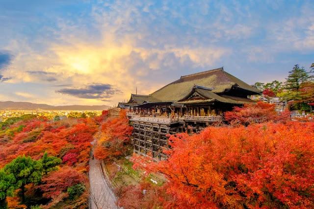 Japan in autumn.