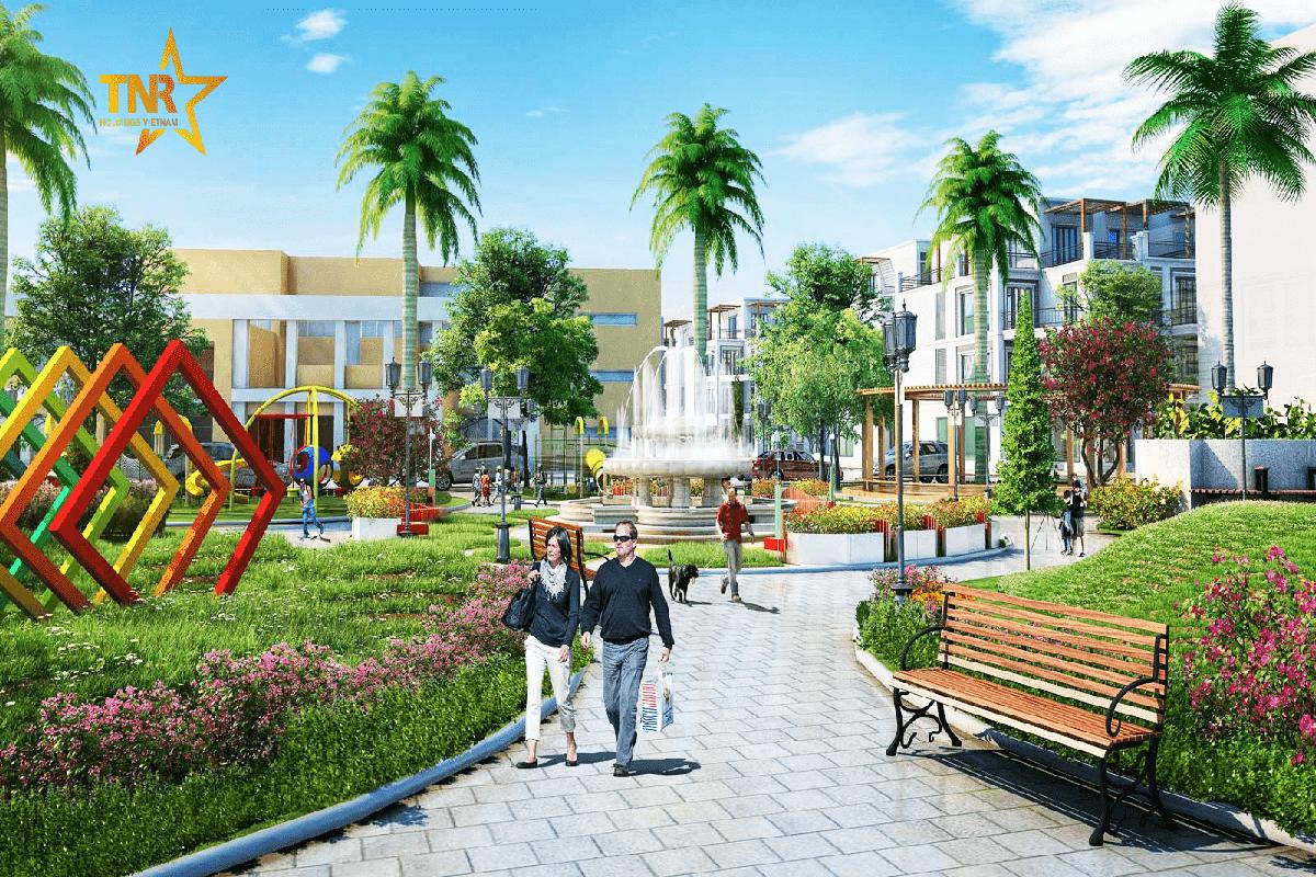 Shophouse dự án Tnr Stars Hiệp Hòa Bắc Giang