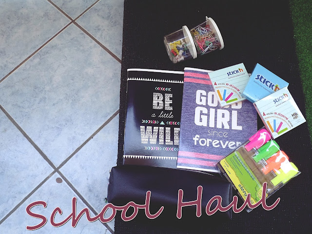 #BTS School Haul