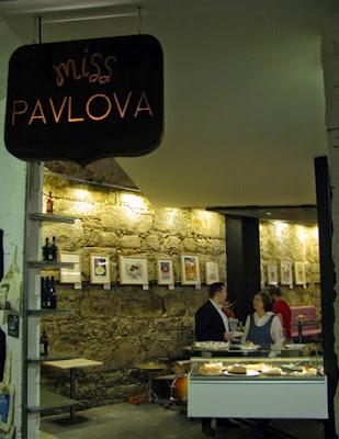 Entrada da loja Miss Pavlova