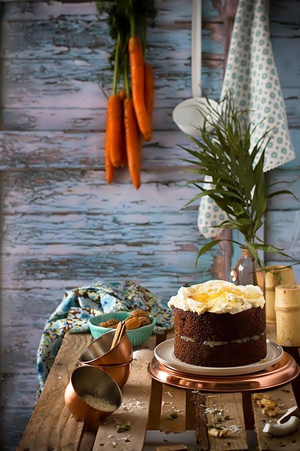 Cómo hacer el auténtico carrot cake. Receta