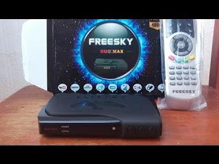 FREESKY MAX HD ( DUOMAX ) NOVA ATUALIZAÇÃO BETA V2.72