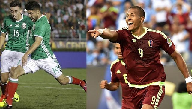 Mexico vs Venezuela en vivo Copa America Centenario