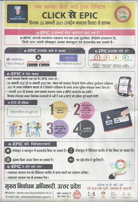Download Digital Voter id Card e-EPIC