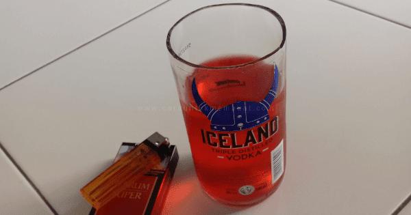 Cara Membuat Gelas Dari Botol Bekas