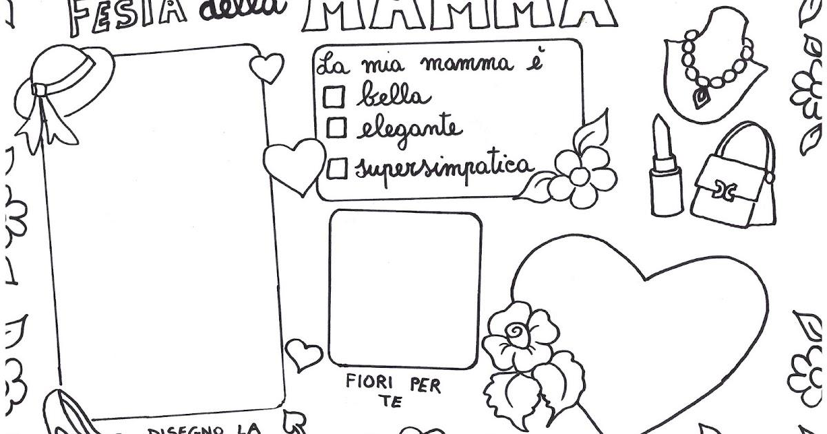 Festa della mamma da colorare for Disegni per la festa della mamma bellissimi
