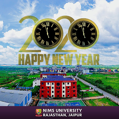 Happy New Year 2020 Wishes - Nims University