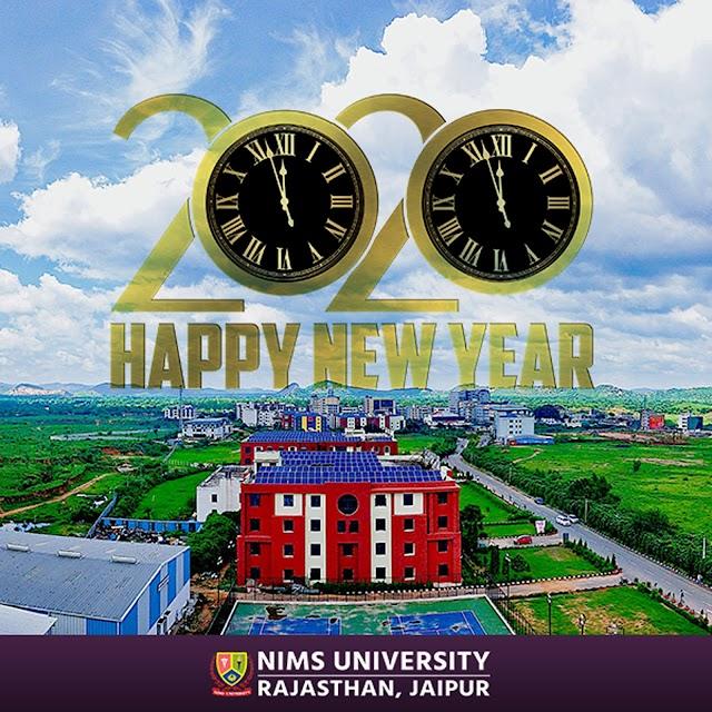 Happy New Year 2020 Wishes - Nims University