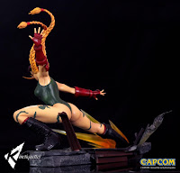 "Galería de imágenes de Cammy White Statuede ""Street Fighter"" - Kinetiquettes"