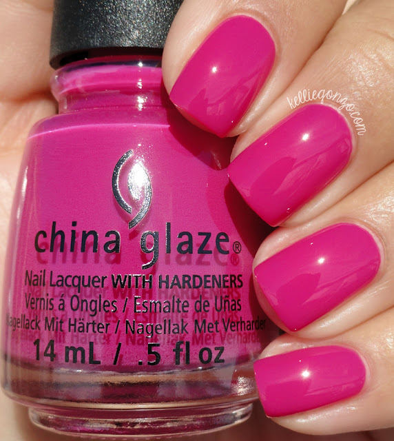 China Glaze In The Near Fuchsia