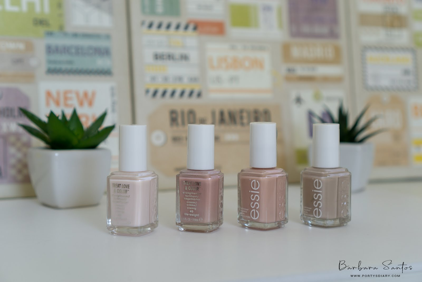 Beauty - Nails favorites of the moment. Includes priming, Color and Remove. Essie, Kiko Milano, Herome, OPI and Sache Vite.
