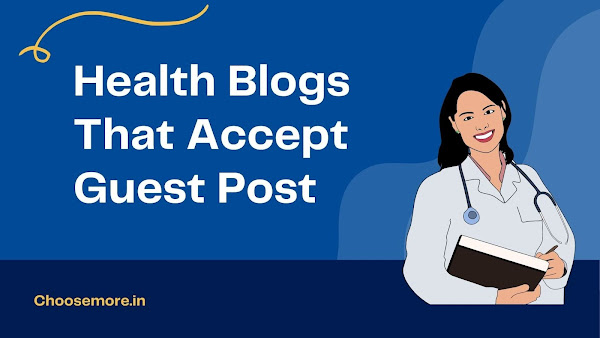 Health Guest Posting Sites