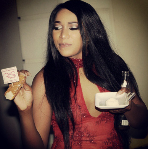 Untitled Rukky Sanda is an alcoholic.