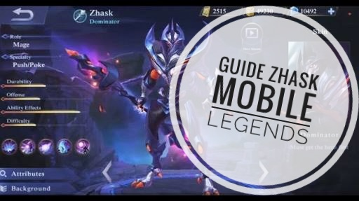 Guide Zhask Mobile legends