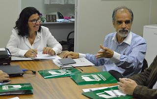 José Renato e Elaine Andrade, Diretora do CCT