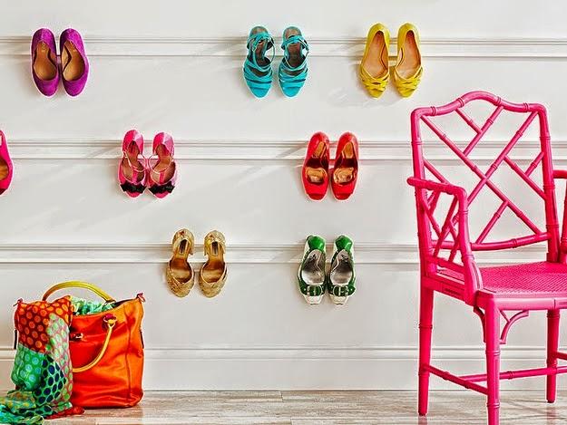 Poco espacio en casa para almacenar zapatos ideas que - Como almacenar zapatos en casa ...