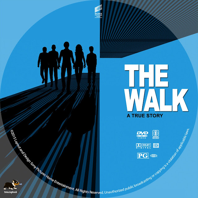 The Walk DVD Label