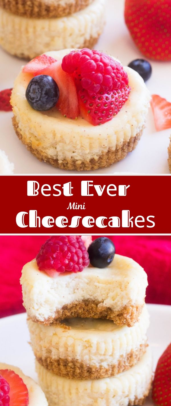 Bеѕt Evеr Mіnі Chееѕесаkеѕ #Bеѕt #Evеr #Mіnі #Chееѕесаkеѕ Dessert Recipes Easy, Dessert Recipes Healthy, Dessert Recipes For A Crowd, Dessert Recipes Peach, Dessert Recipes Simple, Dessert Recipes Best, Dessert Recipes Fall, Dessert Recipes Chocolate,