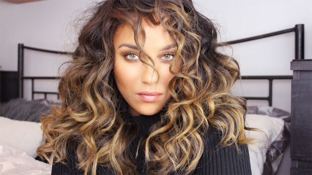 big curly hair tutorial batb