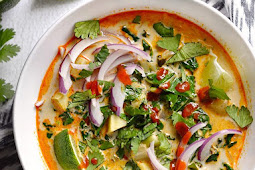 Thai Curry Vegetable Soup Recipe
