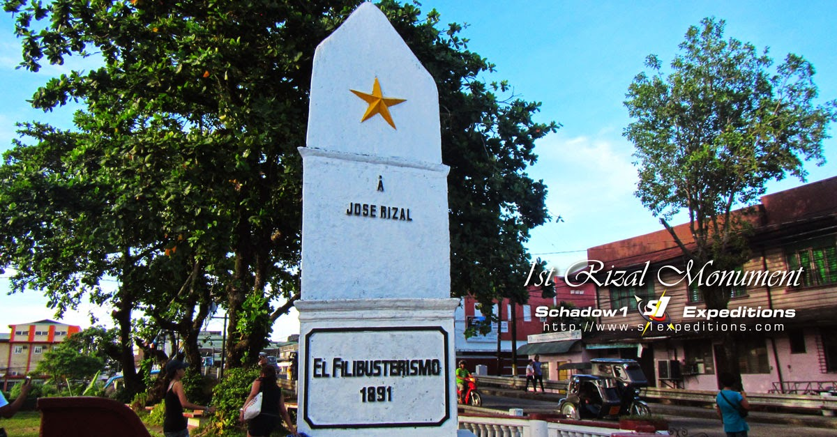 Rizal Monument, Daet - Schadow1 Expeditions