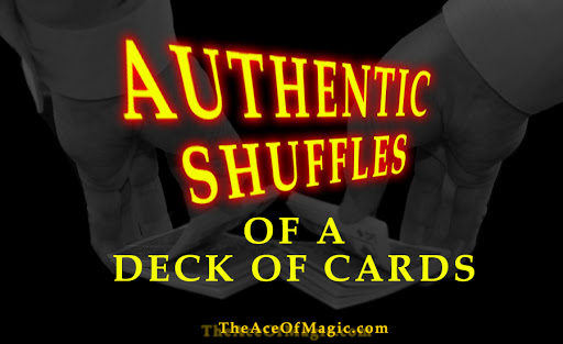 Learn step by step How to Shuffle a Deck of Cards