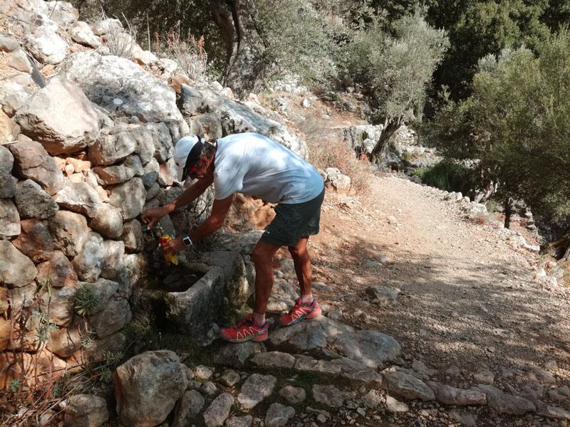 Fontanelle di acqua lungo il percorso