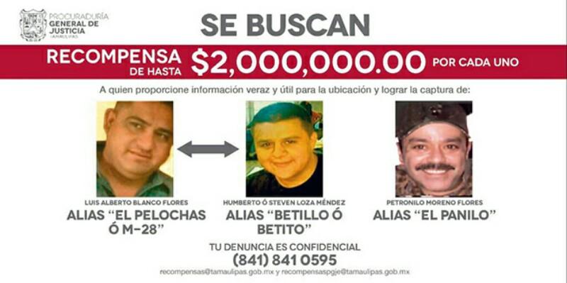 """2 MILLONES de RECOMPENSA por """"EL PELOCHAS,BETITO y el PANILO"""""""