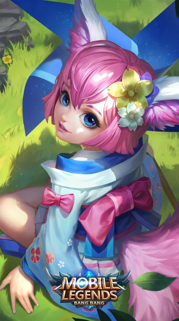Wallpaper Nana Wind Fairy Skin Mobile Legends HD for Android and iOS