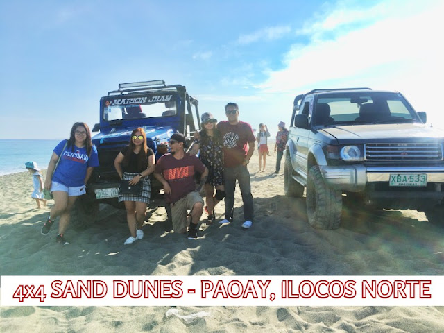 Sand Dunes - Ilocos Norte. The 4x4 Sand Dunes in Paoay is a must try when embarking on an Ilocos Tour