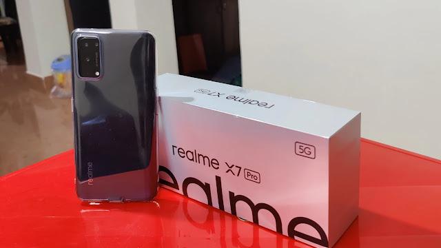 مراجعة هاتف ريلمي Realme X7 Pro مفصلة