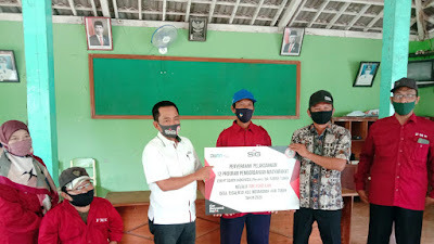 SIG Pabrik Tuban Serah Terima Program CSR 9 OMS FMK Ridho Illahi Tegalrejo