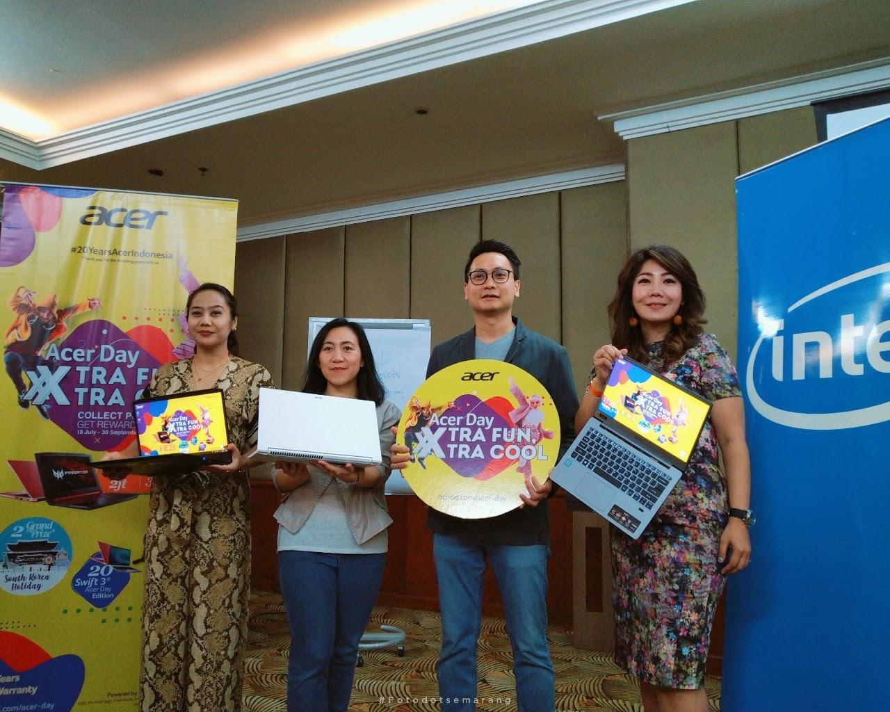 Acer Day 2019 di Semarang, Kampanye Promo Trip Ke Korea Hingga Kenalkan Laptop Baru