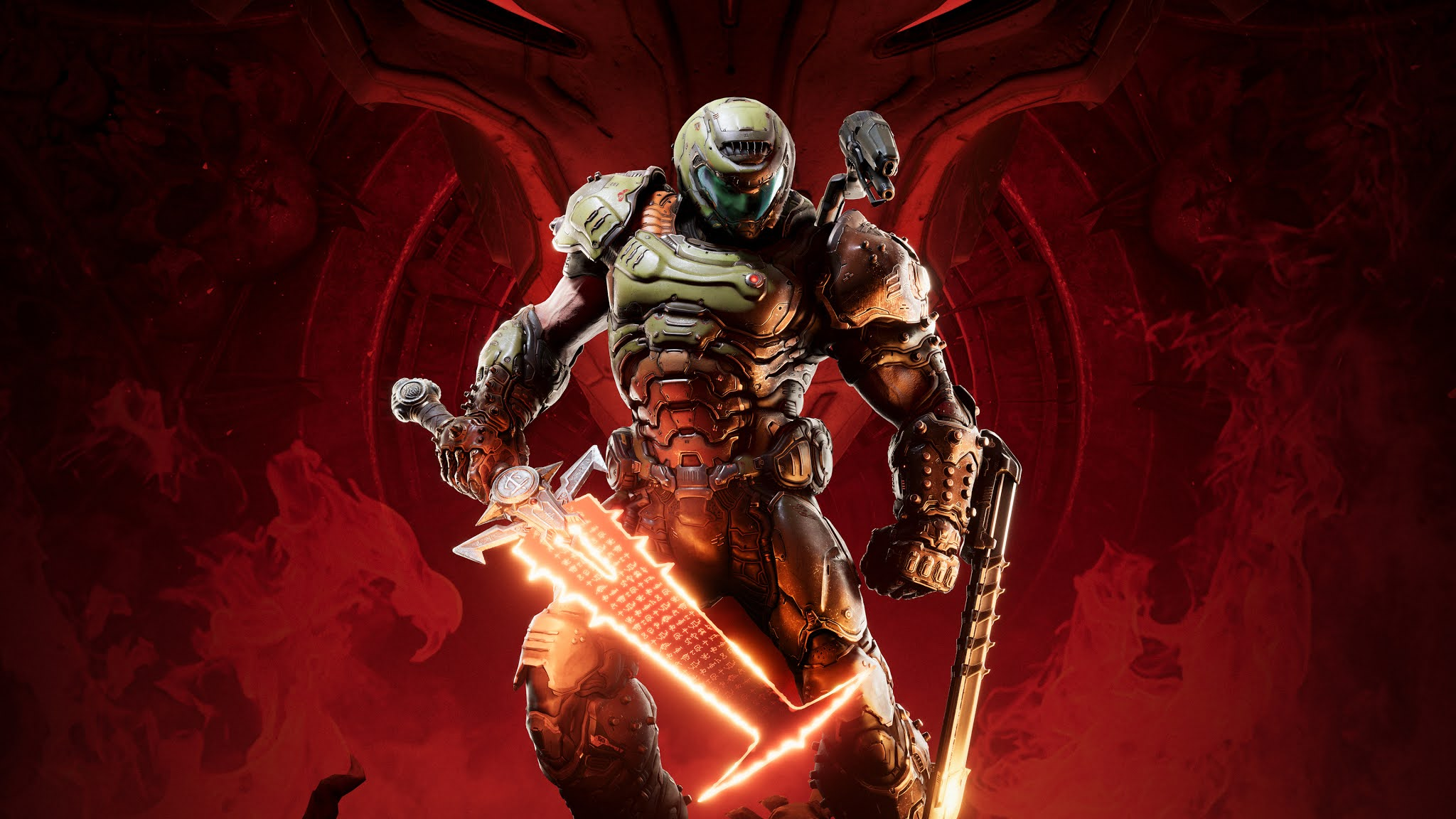 Doom Eternal Video Game Wallpaper