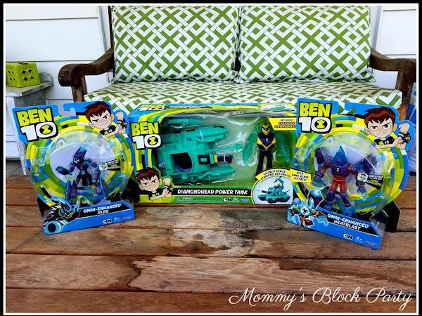 New Ben 10 Toys Will Save Your Summer! #MBPSummerFun18