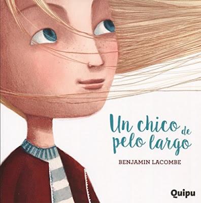 Benjamin Lacombe Portada del Libro El chico de pelo largo