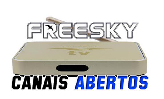 Freesky OTT Stream Nova Atualização USB V2.0.3.48 - 14/01/2020