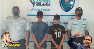 A los del medio trataron de lincharlos por robar celulares en Maracaibo