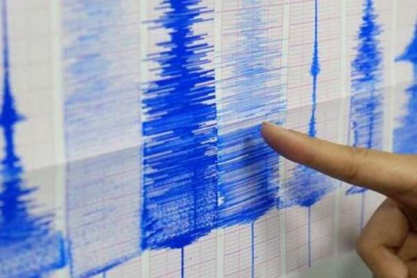 Earthquake magnitude graph