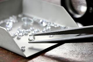 Fasetkowane diamenty