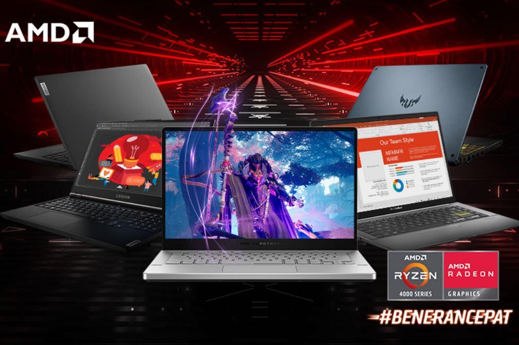 AMD Ryzen 4000 Series Mobile Processor, Bikin Laptop Ngebut dan Beneran Cepat!